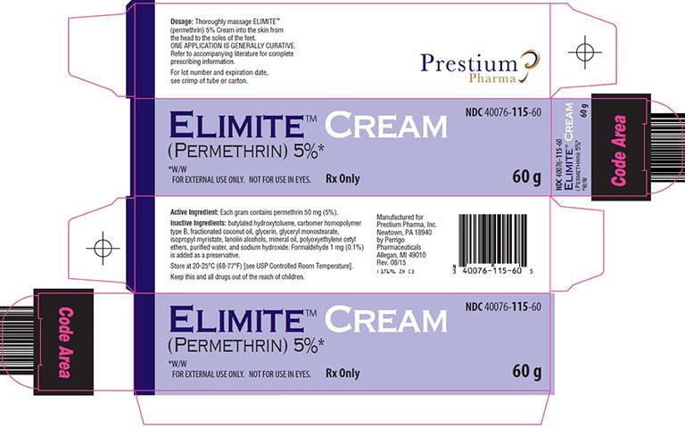 thuốc trị ghẻ Elimite