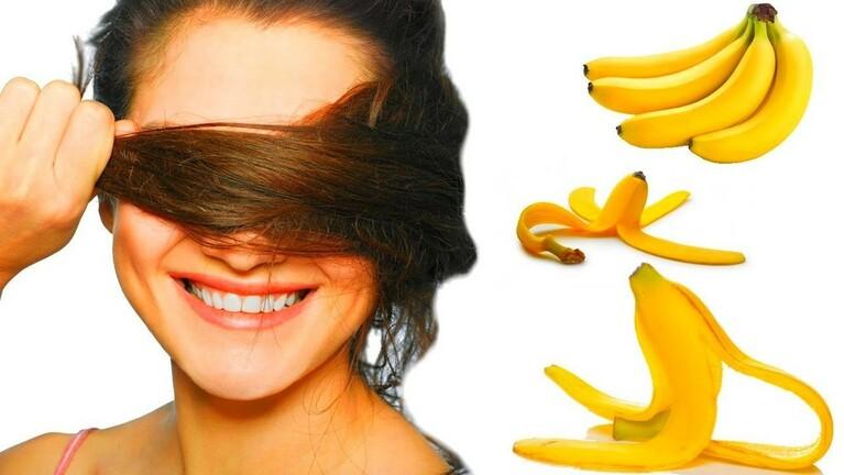 Công thức làm mặt nạ cho tóc từ chuối
