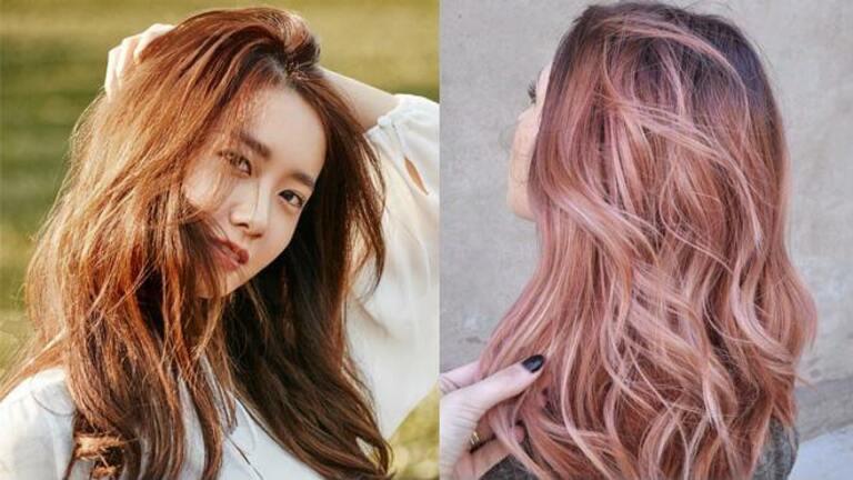 Nhuộm tóc màu trầm để che đi phần tóc khô xơ hư tổn