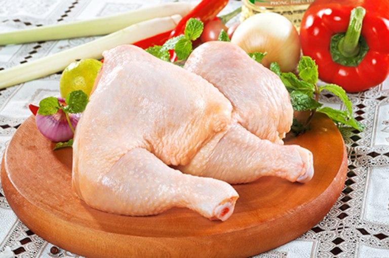 Thịt gà chứa rất nhiều dưỡng chất tốt đối với sức khỏe và dạ dày