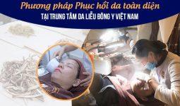 Phục hồi da nhiễm Corticoid đến 90% tại Trung tâm Da liễu Đông y Việt Nam