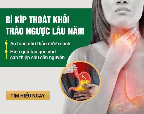 Bài thuốc Đông y chữa trào ngược