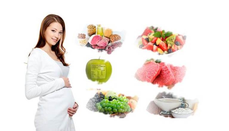 mẹ bầu 3 tháng đầu nên ăn gì