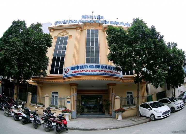 bệnh viện chữa xuất tinh sớm ở Hà Nội