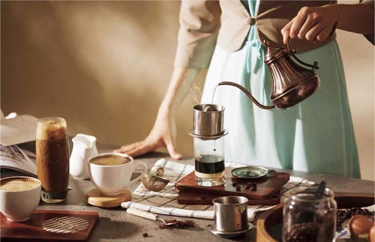 Viêm gan B có nên uống cà phê