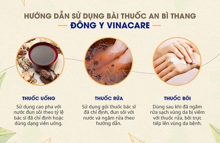 Bài thuốc An Bì Thang được bào chế để người bệnh mề đay có thể sử dụng dễ dàng, tiện lợi hơn