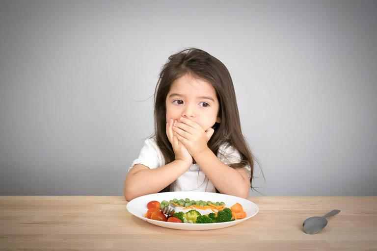 Biểu hiện biếng ăn, ăn không ngon miệng