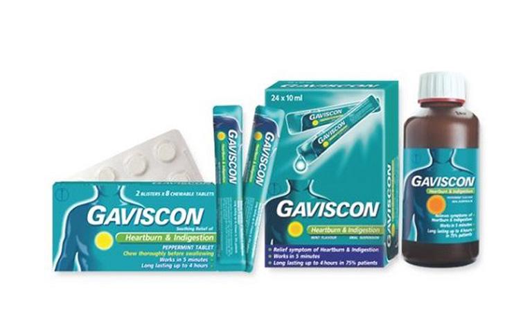Thuốc trào ngược dạ dày Gaviscon