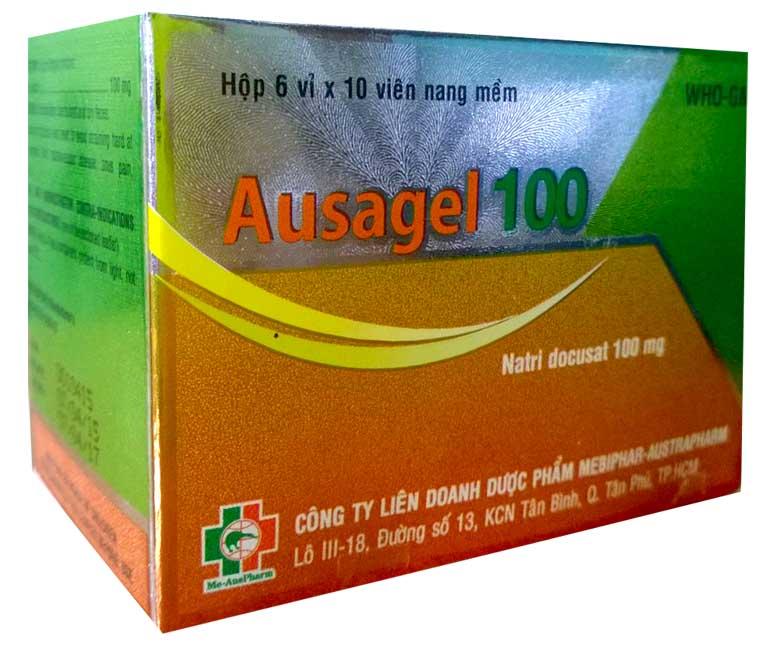 Thuốc trị táo bón Ausagel 250mg