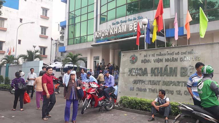 bệnh viện chữa trào ngược dạ dày uy tín