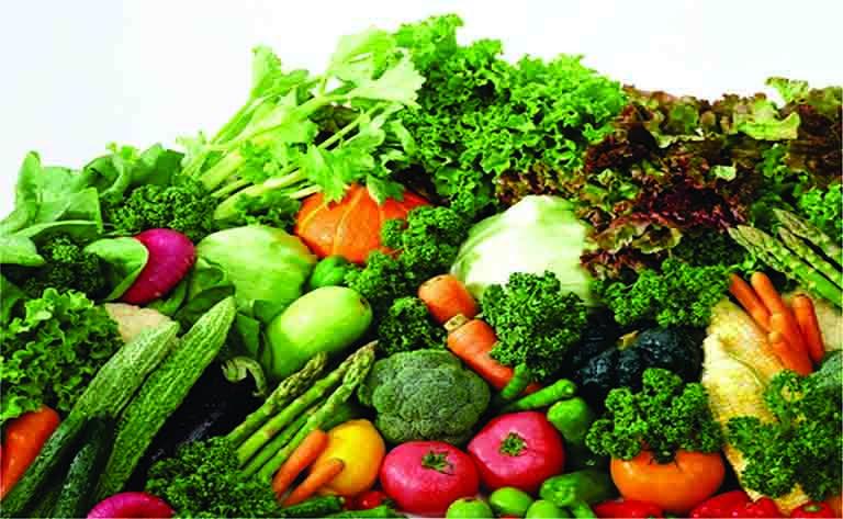bị viêm da dị ứng nên ăn rau lá xanh