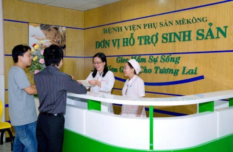 Trung tâm y tế phụ sản MêKông khám vô sinh hiếm muộn ở TPHCM