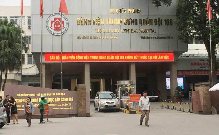 Bệnh viện Trung ương quân đội 108 là địa chỉ khám chữa yếu sinh lý uy tín tại Hà Nội