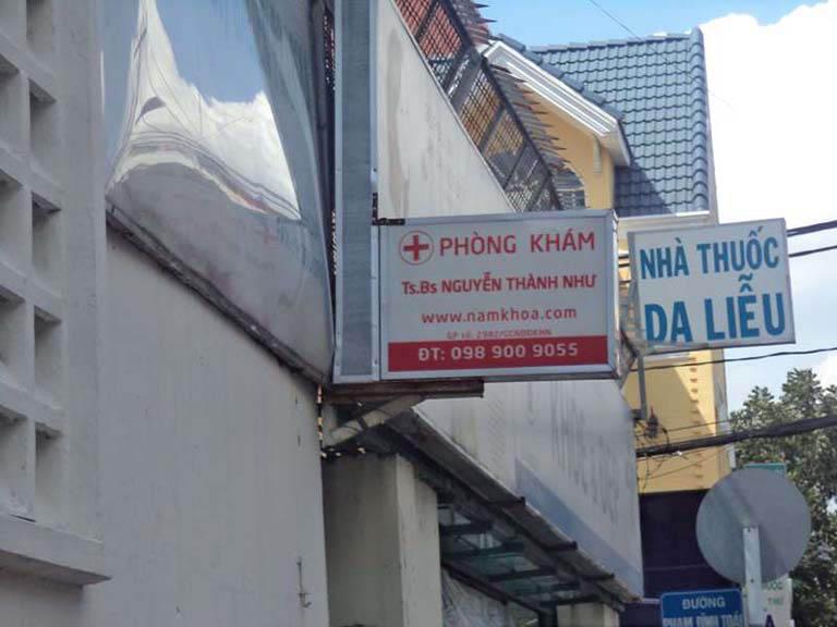 phòng kham nam khoa tư nhân tại tphcm