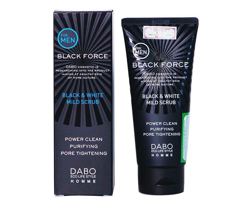Sữa rửa mặt trị mụn Black Force – For Men dành cho nam giới