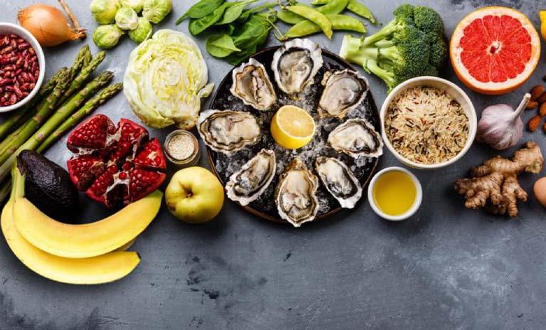 Bổ sung vào chế độ ăn uống hàng ngày các loại thực phẩm có lợi cho sức khỏe sinh lý nam