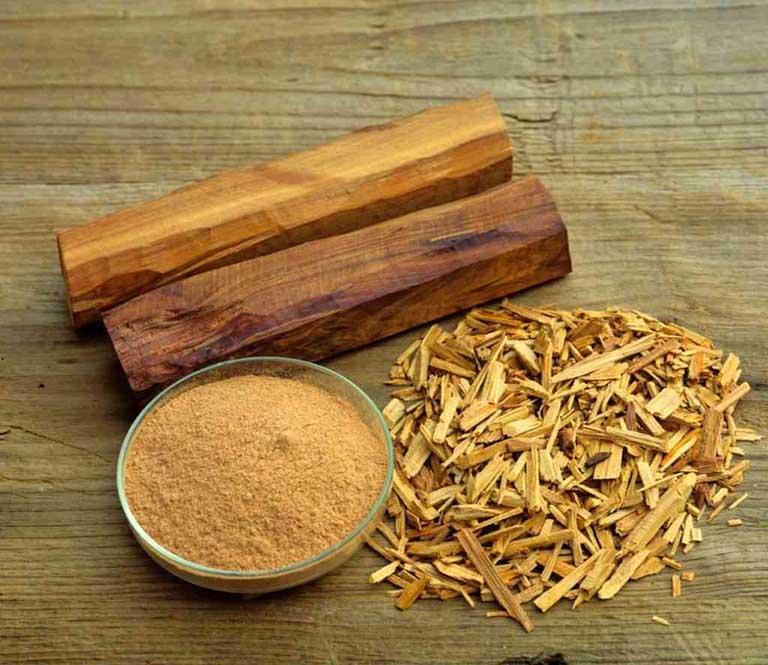 thuốc nam chữa bệnh chàm từ cây đàn hương