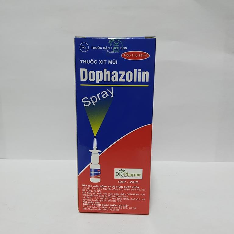 Thuốc xịt viêm mũi dị ứng Dophazolin