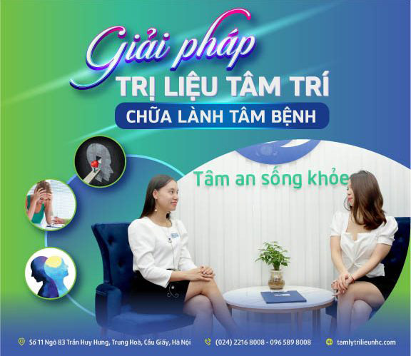 trị liệu rối loạn lo âu tại Trung tâm Tâm lý NHC Việt Nam