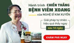 Hành trình nghệ sĩ Kim Xuyến chữa khỏi viêm xoang
