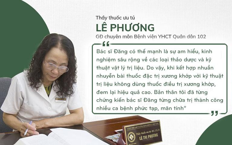 Bác sĩ Lê Phương chia sẻ về lương y Phùng Hải Đăng