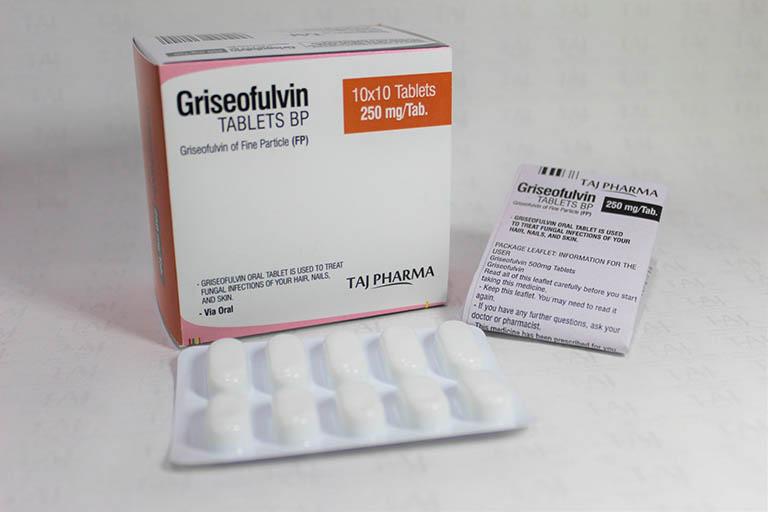 Griseofulvin điều trị nấm da đầu