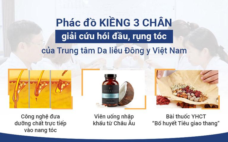 Phác đồ điều trị toàn diện của Trung tâm Da liễu Đông y Việt Nam