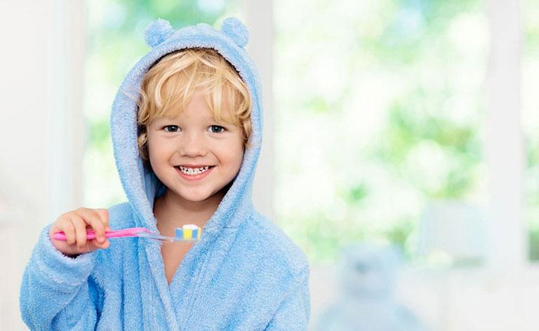 phòng chống sâu răng ở trẻ em