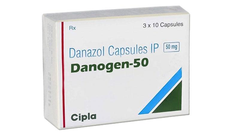 Thuốc điều trị lạc nội mạc tử cung danazol