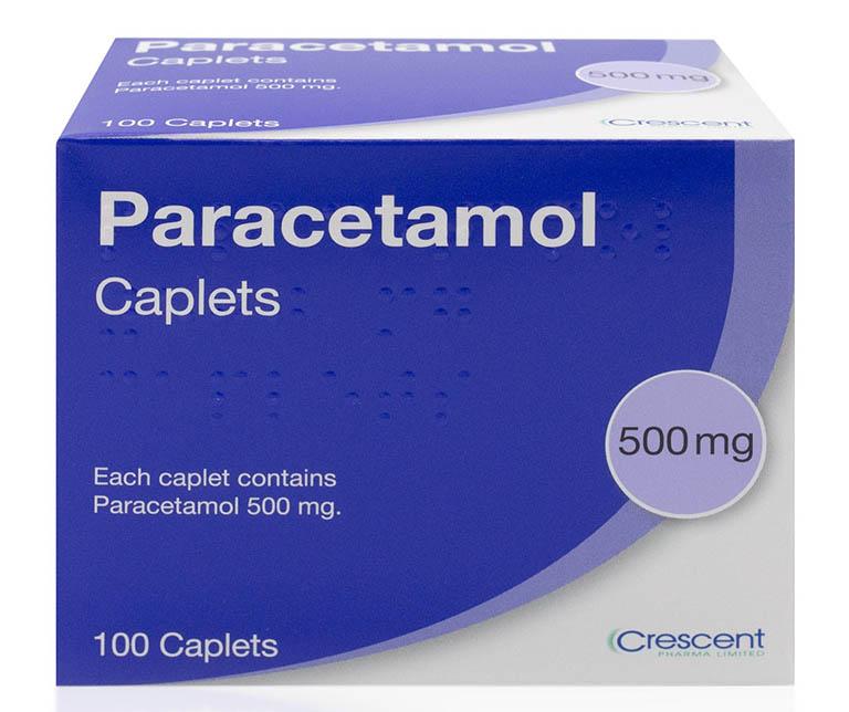 thuốc giảm đau răng nhanh Paracetamol