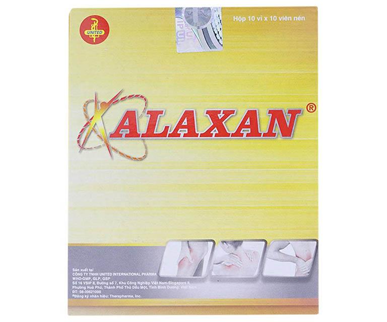 thuốc trị đau răng Alaxan