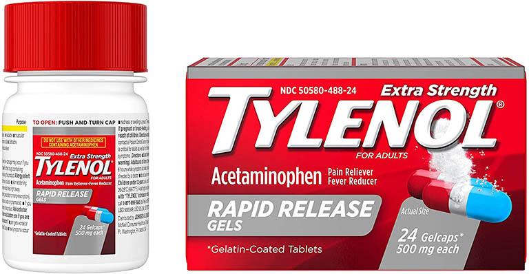 thuốc giảm đau răng Tylenol