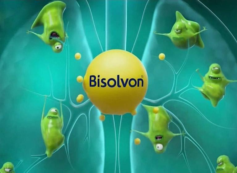 hướng dẫn sử dụng thuốc bisolvon siro