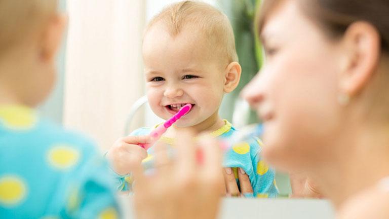 viên ngậm chống sâu răng cho bé