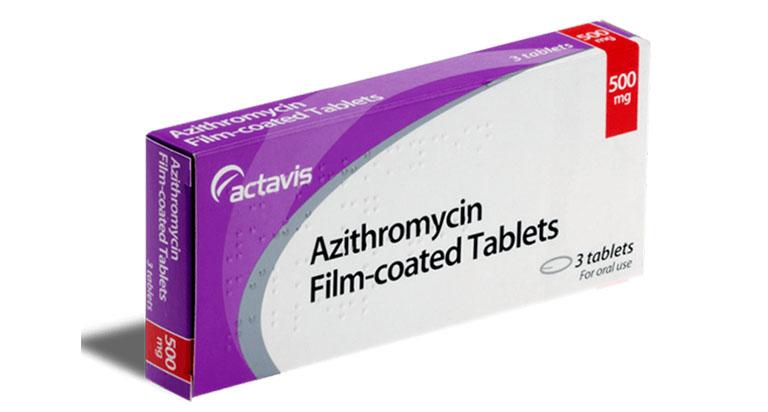 Thuốc trị áp xe răng Azithromycin
