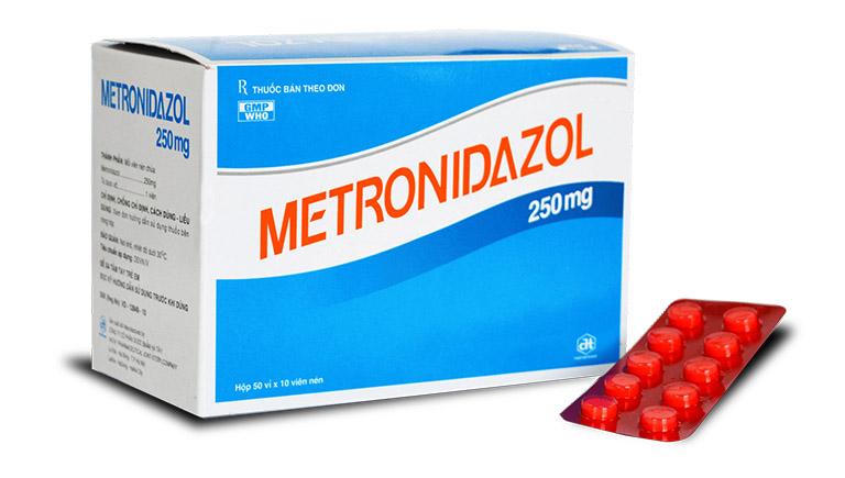 thuốc điều trị áp xe răng  Metronidazole