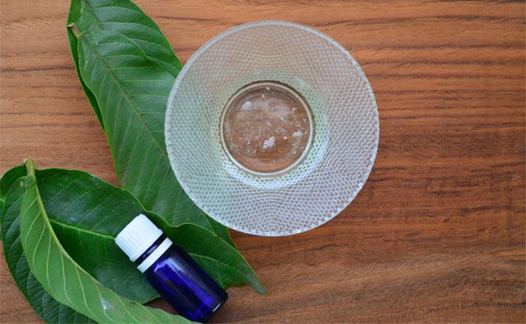 Tinh dầu lá ổi trị nấm da đầu