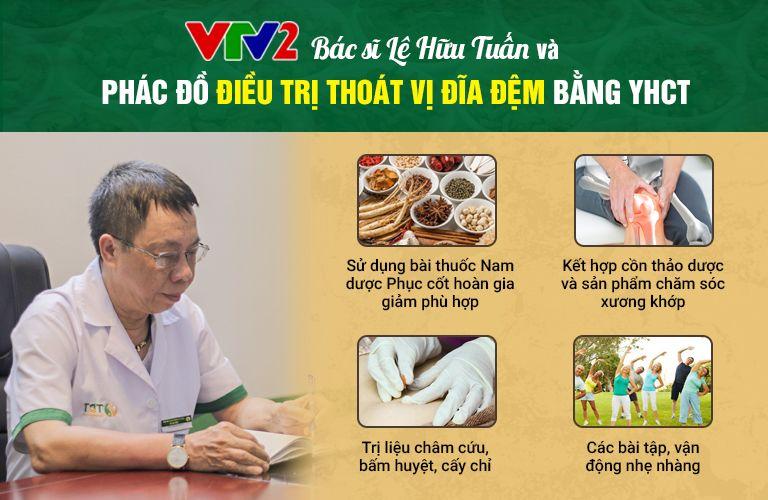 Bác sĩ Lê Hữu Tuấn cùng phác đồ điều trị thoát vị đĩa đệm theo YHCT