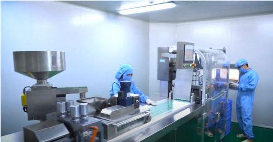 Nhà máy sản xuất bài thuốc An Bì Thang