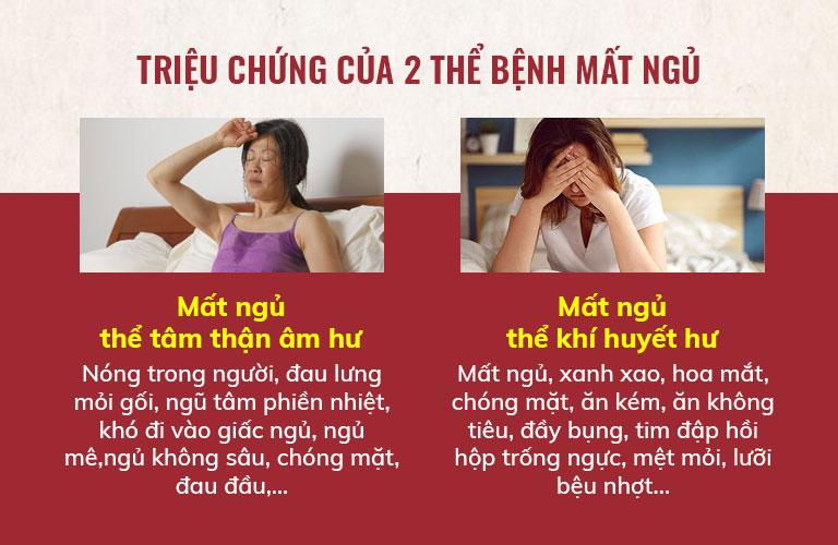 Triệu chứng điển hình của bệnh mất ngủ