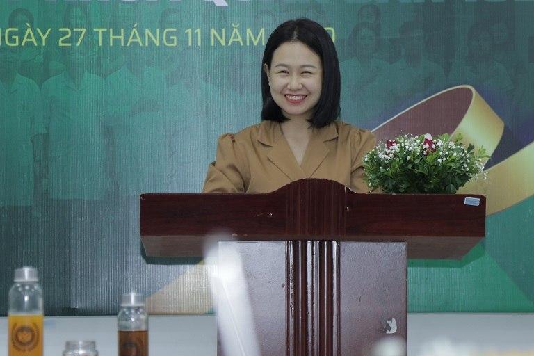 Bà Đinh Kim Thoa - Giám đốc Trung tâm dinh dưỡng y khoa Quân dân 102