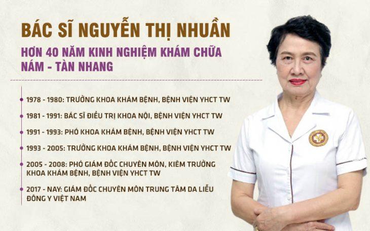 Bác sĩ Nguyễn Thị Nhuần - kinh nghiệm 40 năm thăm khám, điều trị bệnh bằng y học cổ truyền