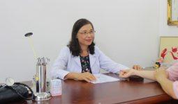 Tiến sĩ - Bác sĩ Nguyễn Thị Thư hiện đang điều trị chính tại đơn vị