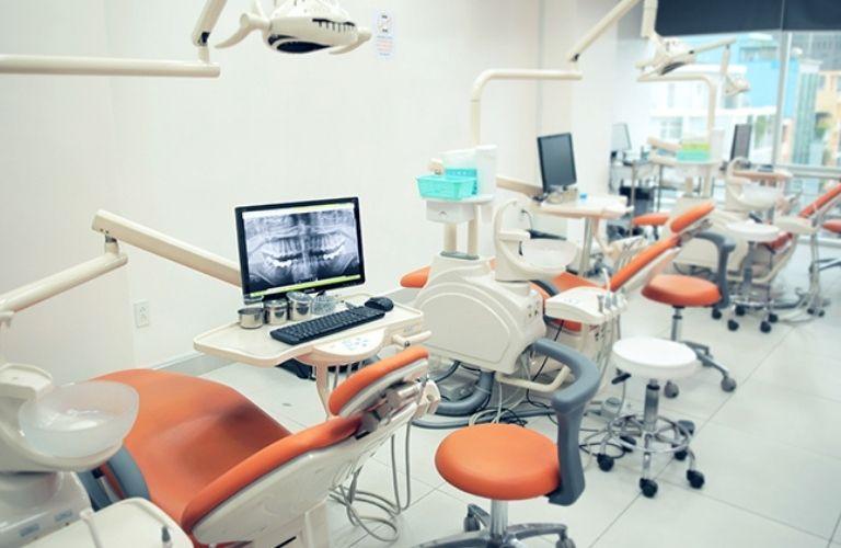 Trung tâm Nha khoa trẻ em Vidental Kid sở hữu trang thiết bị tiên tiến, hiện đại đạt chuẩn Quốc tế