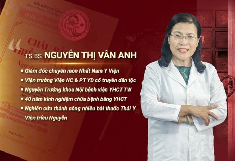 Bác sĩ Vân Anh là người có chuyên môn và kinh nghiệm nhiều năm điều trị bệnh nam khoa